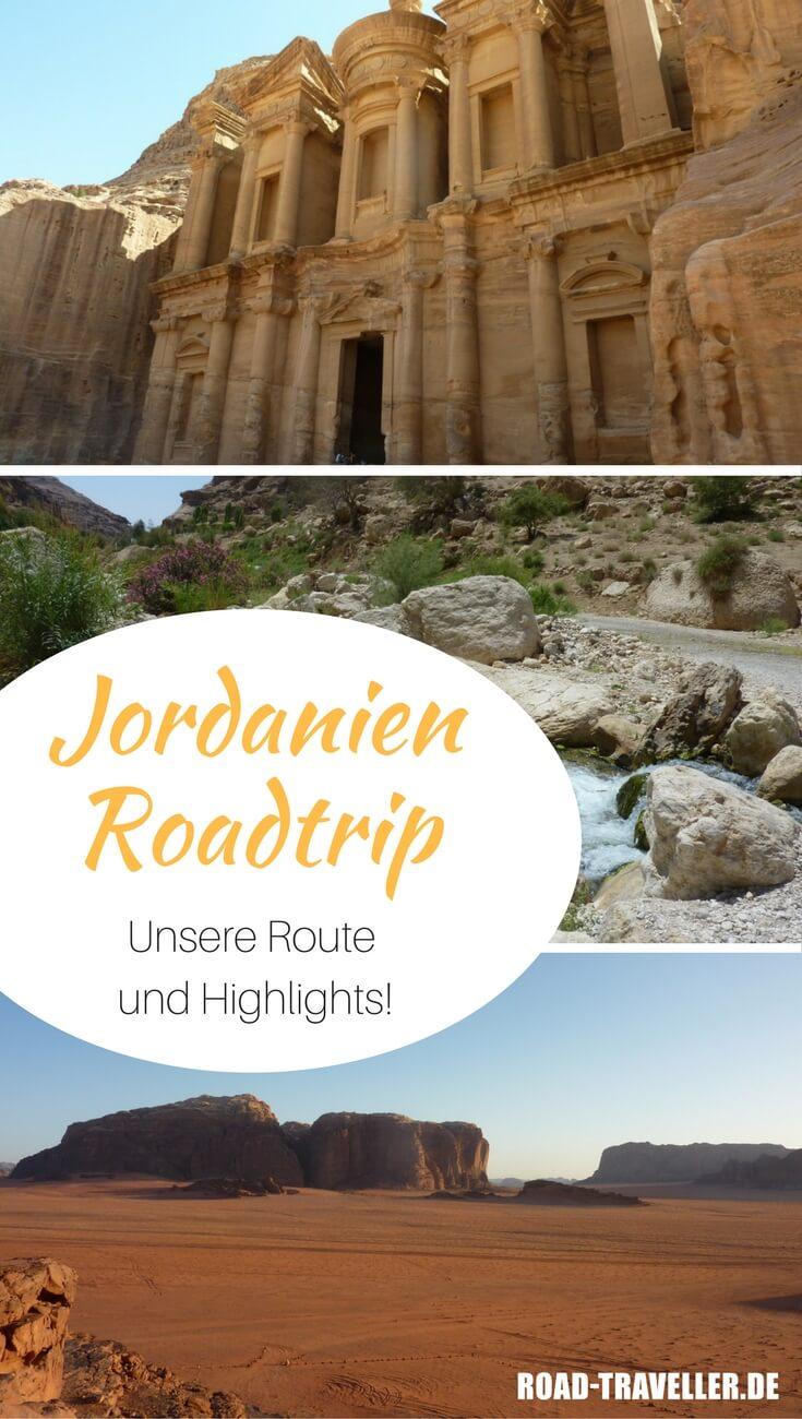 Jordanien Roadtrip: Unsere Tipps, Highlights und die detaillierte Route zur Planung deiner Jordanien Rundreise auf eigene Faust.