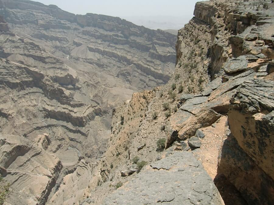 Jebel Shams - der Grand Canyon of Oman