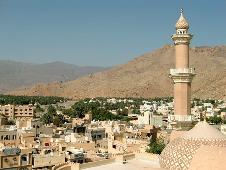 Oasenstadt Nizwa im Oman