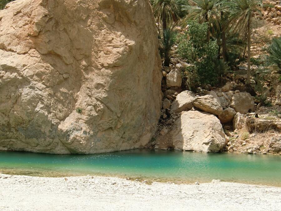 Pool im Wadi Tiwi Oman