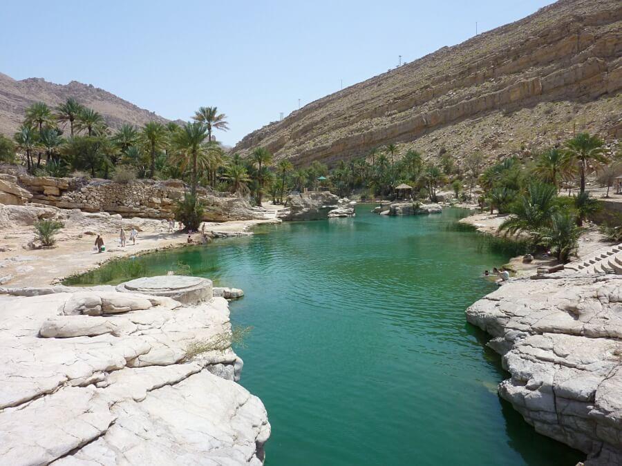 Wadi Bani Khalid im Oman