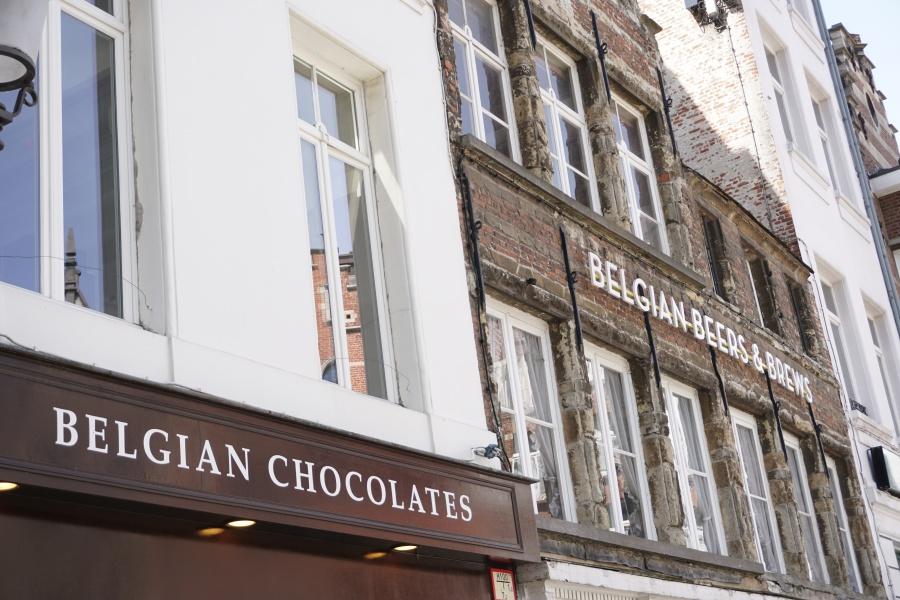 Schokolade und belgisches Bier