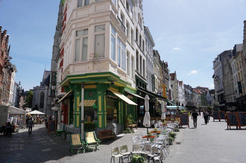 Die Gassen von Antwerpen