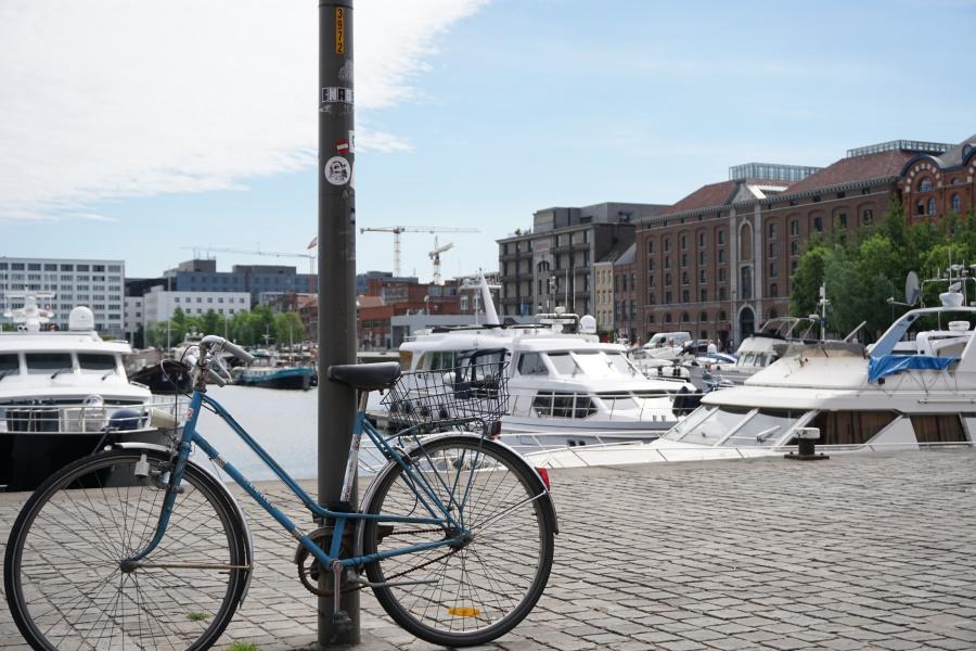 Der Hafen von Antwerpen