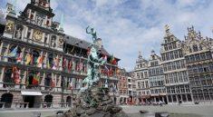 Der Grote Markt in Antwerpens Altstadt