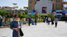 Lisa in Teheran, Iran