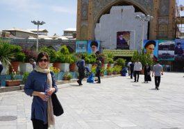 Lisa in Teheran, Iran