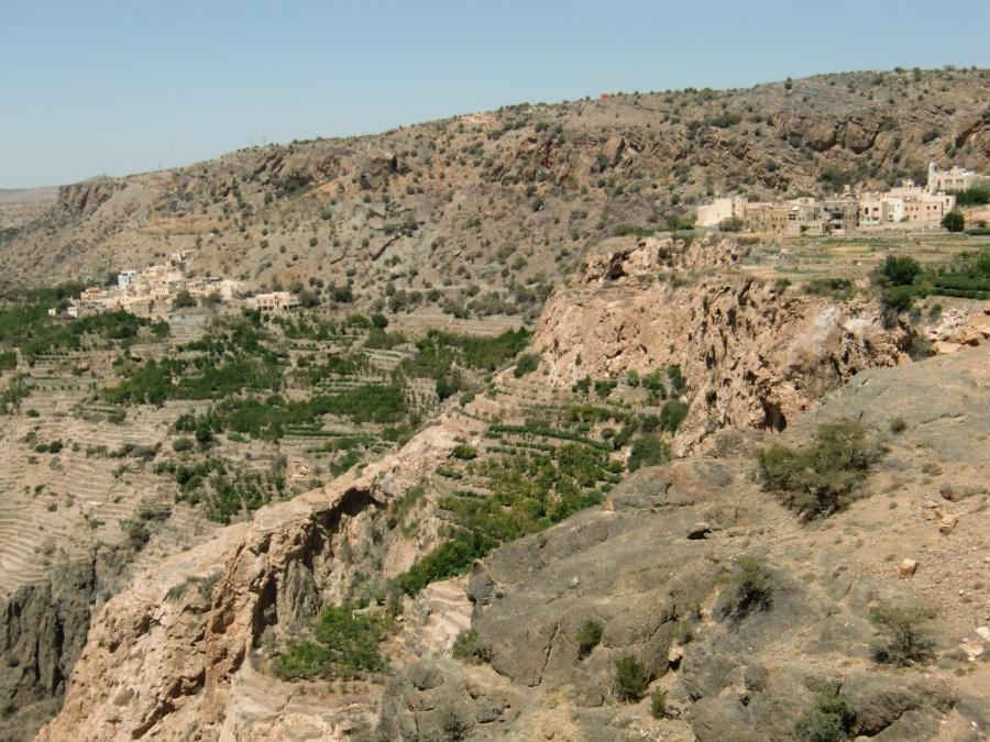 Wanderung mit Ausblicken auf dem Jebel Akhdar