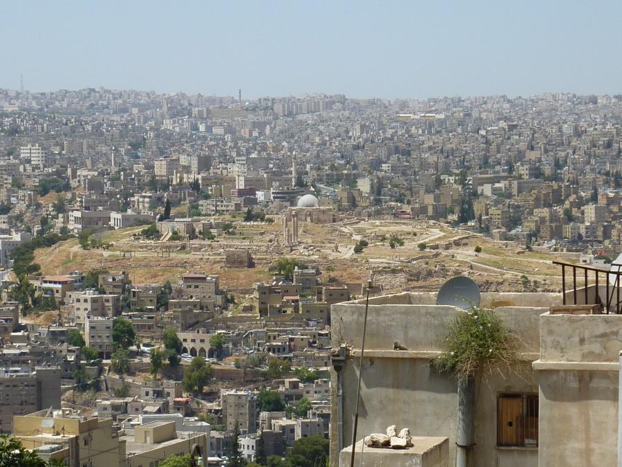 Der Zitadellenhuegel in Amman