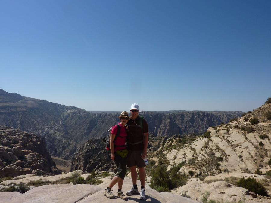 Wanderung im Naturschutzgebiet Dana