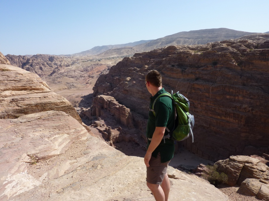 Ausblick auf Petra