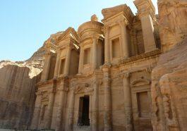 Das Kloster in Petra