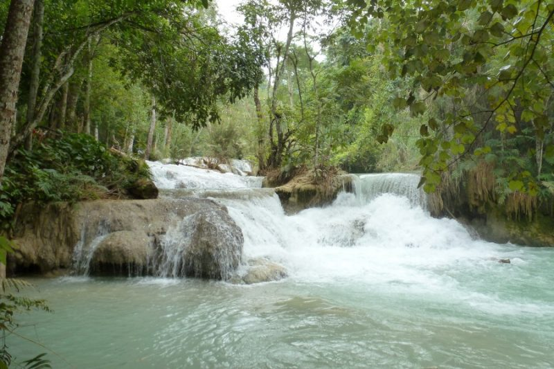 Tad Kuang Xi Wasserfall bei Luang Prabang