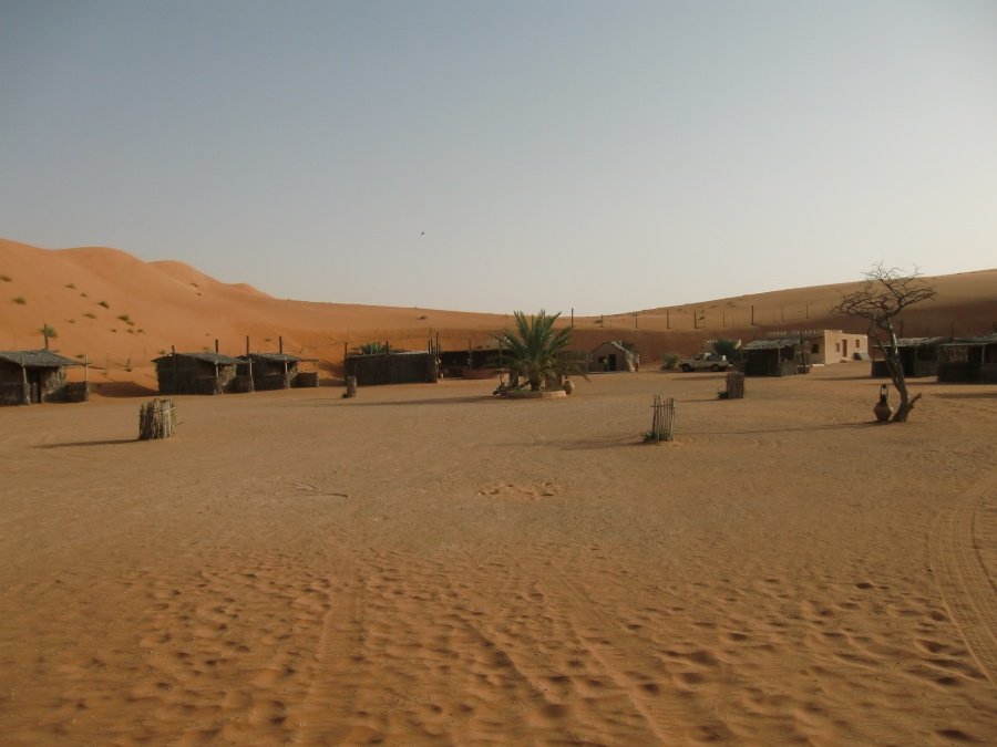 Das Nomadic Desert Camp im Oman