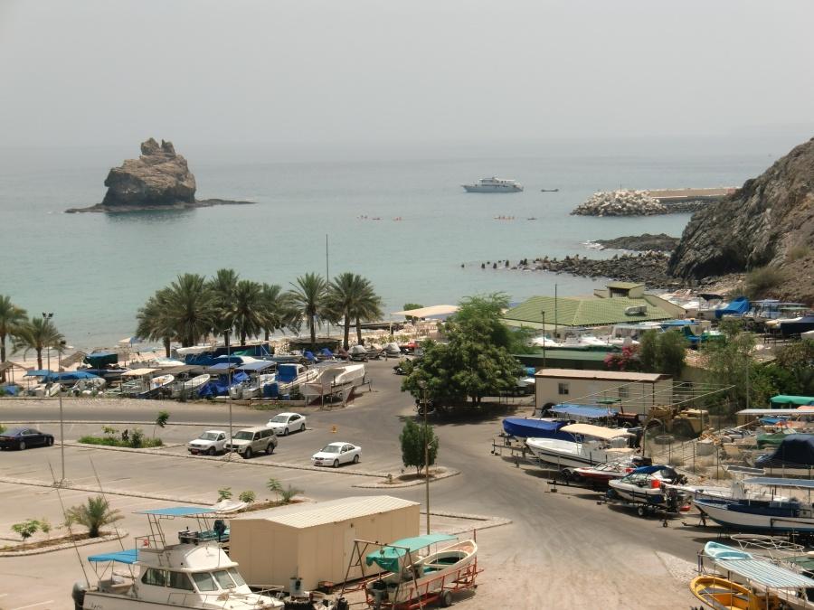 Hafen in Muscat