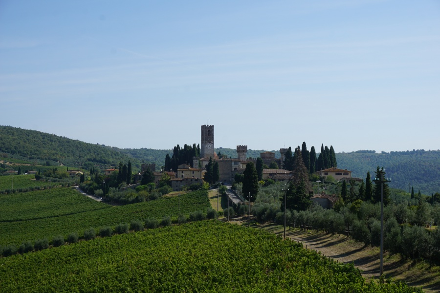 Badia a Passignano in der Toskana