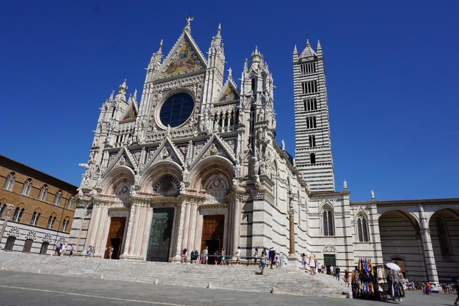 Der Dom in Siena - ein beeindruckender Prachtbau