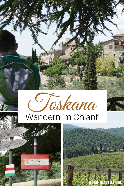 Wandern im Chianti in der Toskana - unsere liebsten Routen und Wanderungen