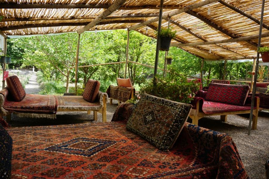 Teehaus bei Abyaneh Iran