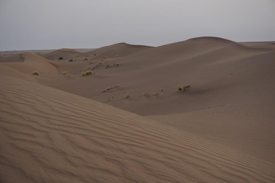 Sandduenen in der Dasht-e Kavir