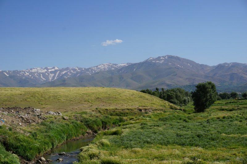 Gebirgslandschaft bei Hamadan