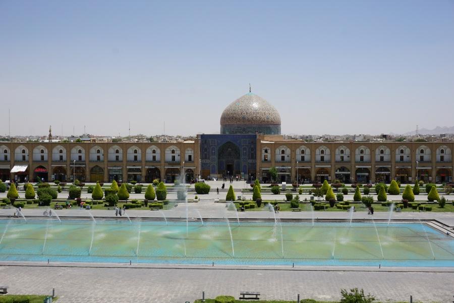 Der Imam Platz in Isfahan Iran