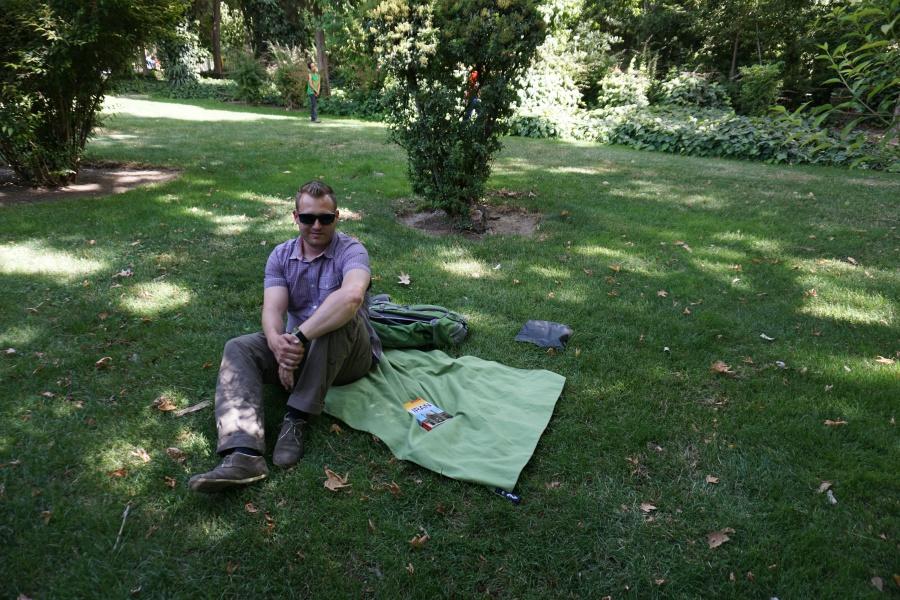 Picknick in Isfahan Iran