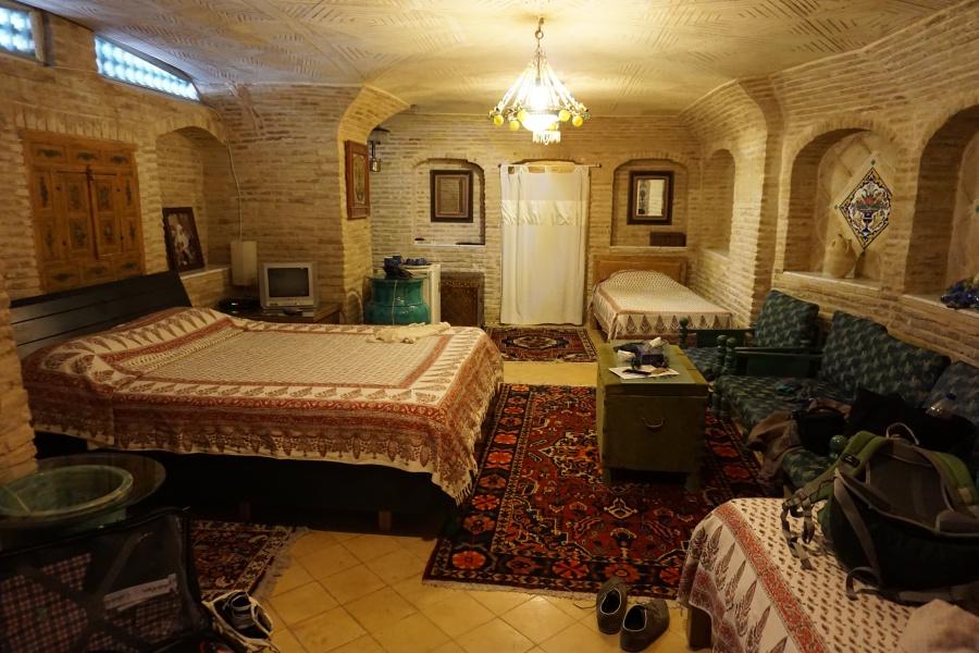 Zimmer der Bekhradi Historical Residence in Isfahan