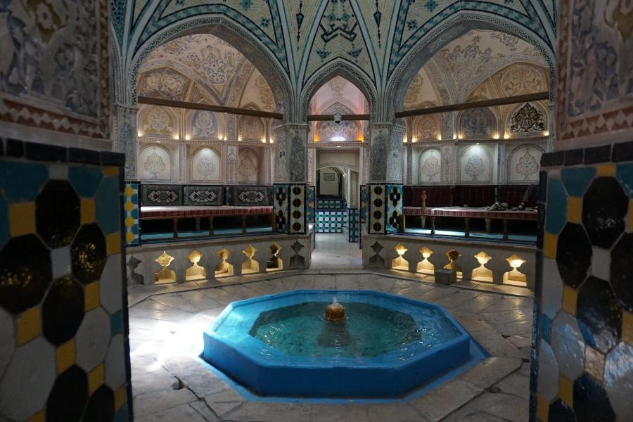 Hamam in Kashan Iran