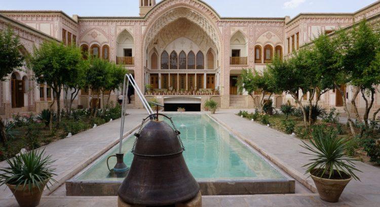 Ein traditionelles Buergerhaus in Kashan