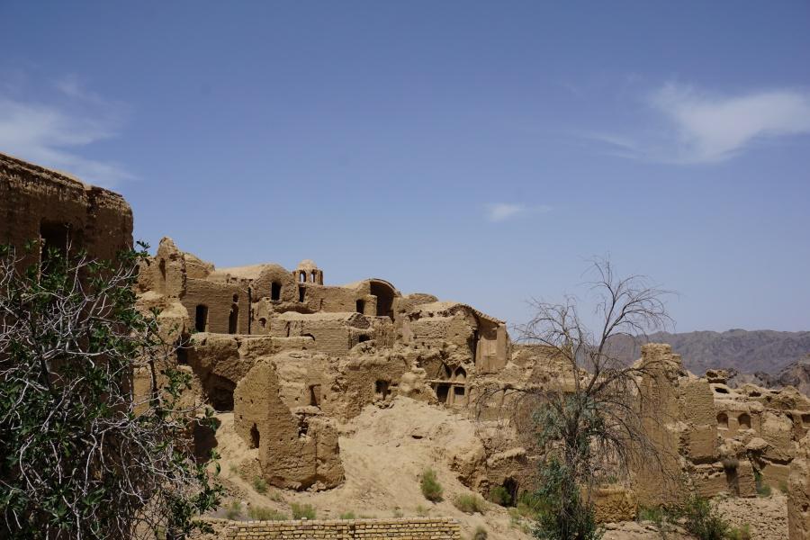 Das Lehmdorf Kharanaq