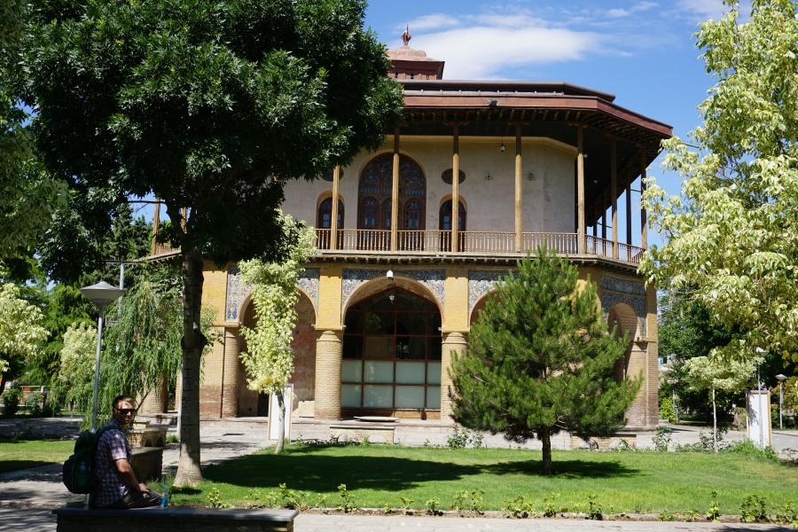 Der Stadtpark von Qazvin