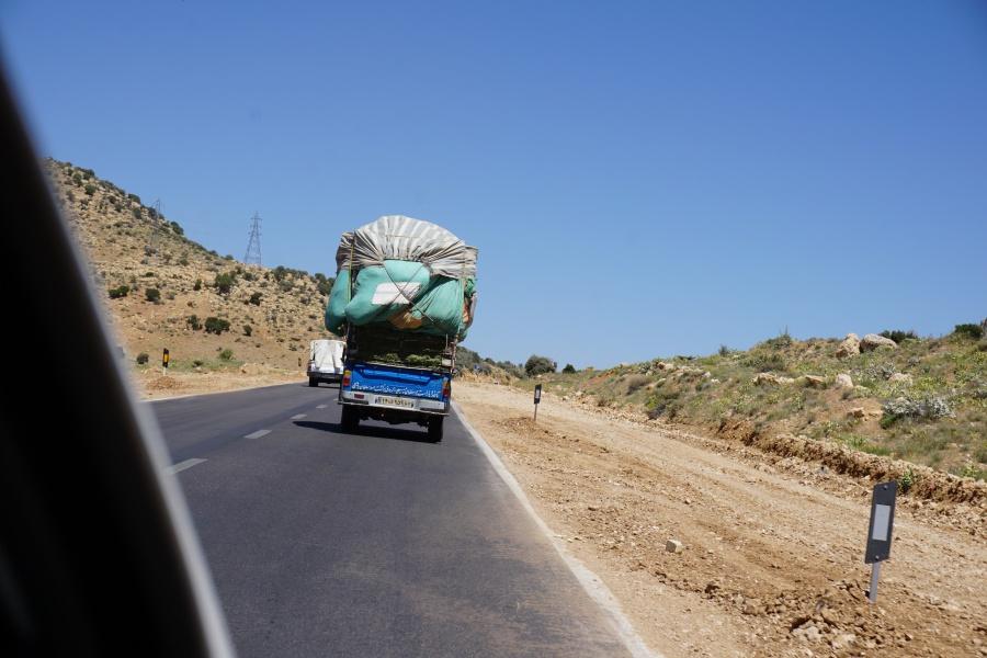Transportmittel und Ladungssicherung im Iran