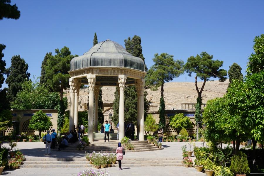 Gedenkstaette fuer einen Dichter: Das Hafis Mausoleum in Shiraz