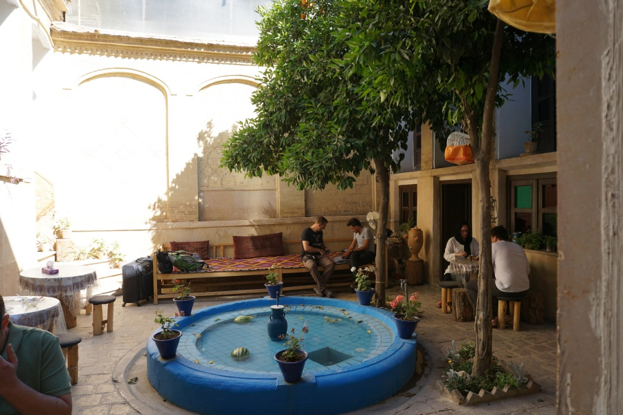 Das Parhami Traditional House - ein schoenes Guesthouse in Shiraz
