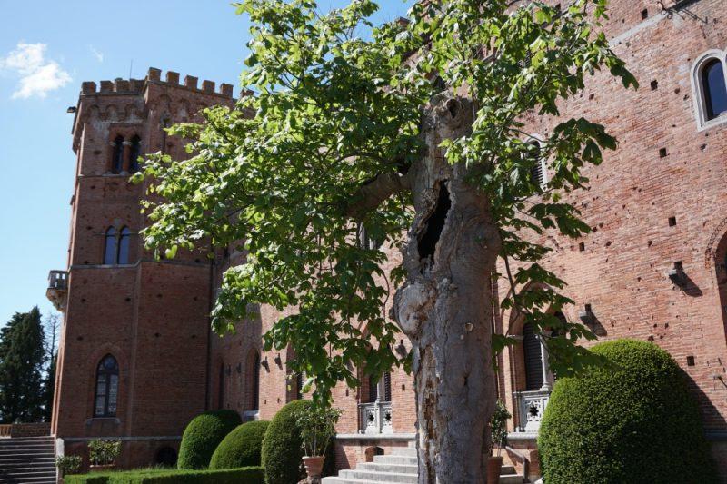 Das Castello di Brolio in der Toskana mitten im Chianti Gebiet