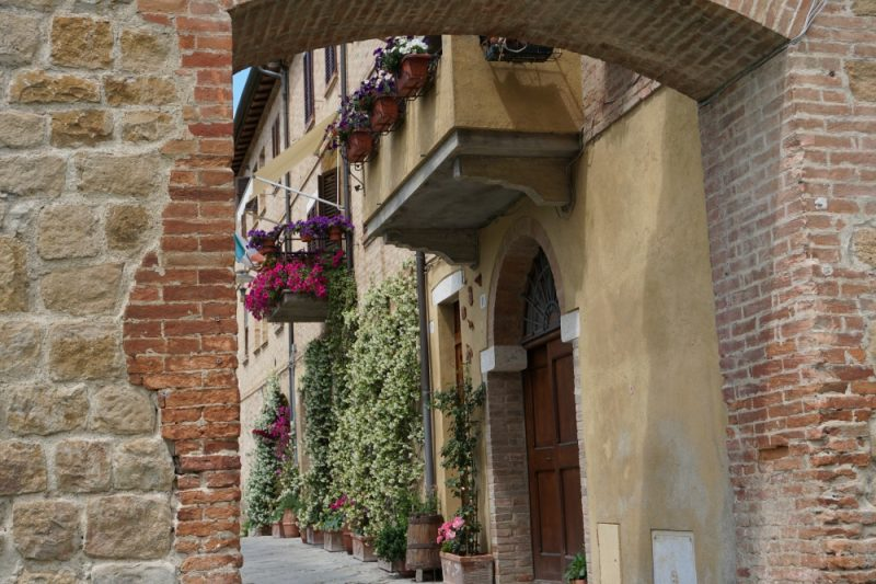 Buonconvento, eine Mittelalterperle in der suedlichen Toskana