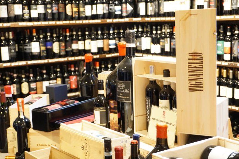 Weinverkostung im Chianti in der Toskana