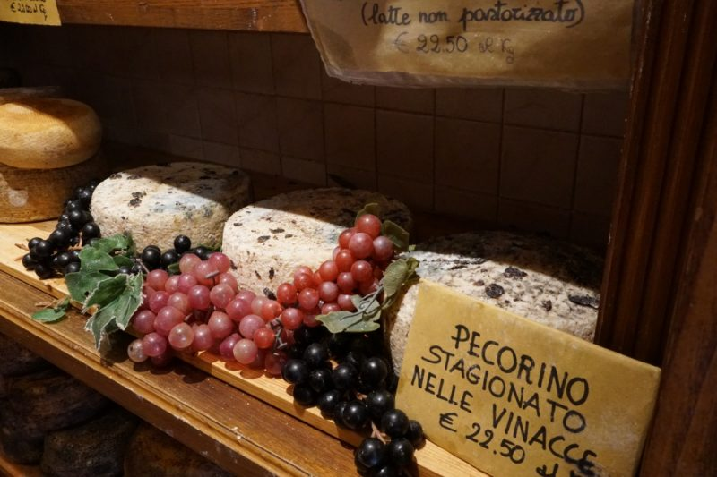 Pecorino aus Pienza im Chianti