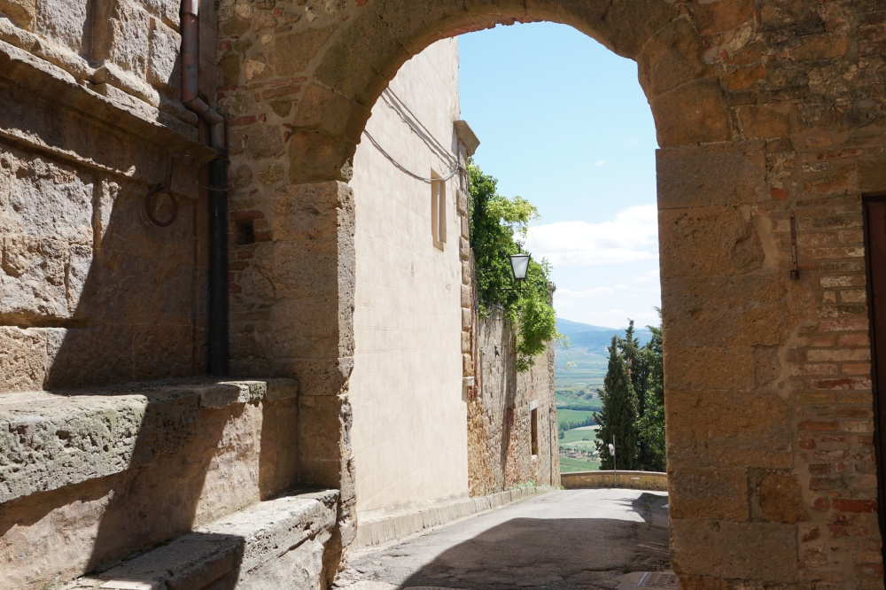 Ausblicke im Chianti in der Toskana