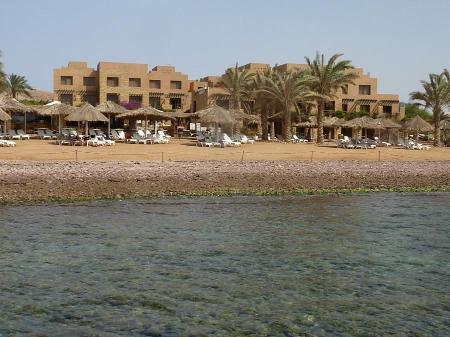 Strand in Aqaba. Entspannen, schnorcheln, schwimmen