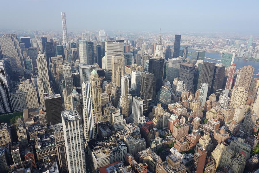 Ausblick vom Empire State Building New York