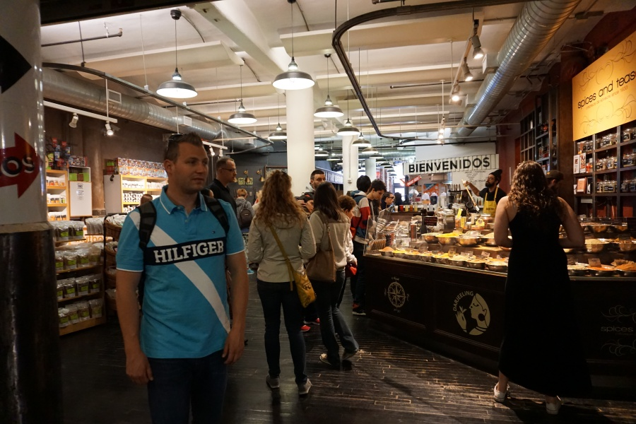 Chelsea Market im Meatpacking District Manhattan