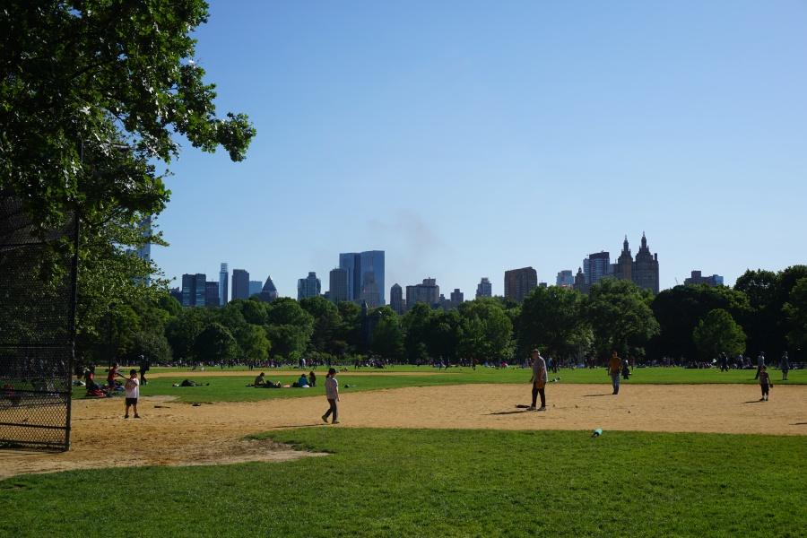 Sportflaechen im Central Park