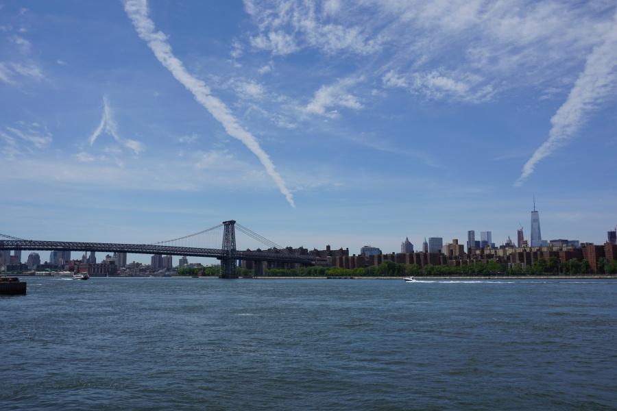 Blick von Williamsburg auf Manhattan