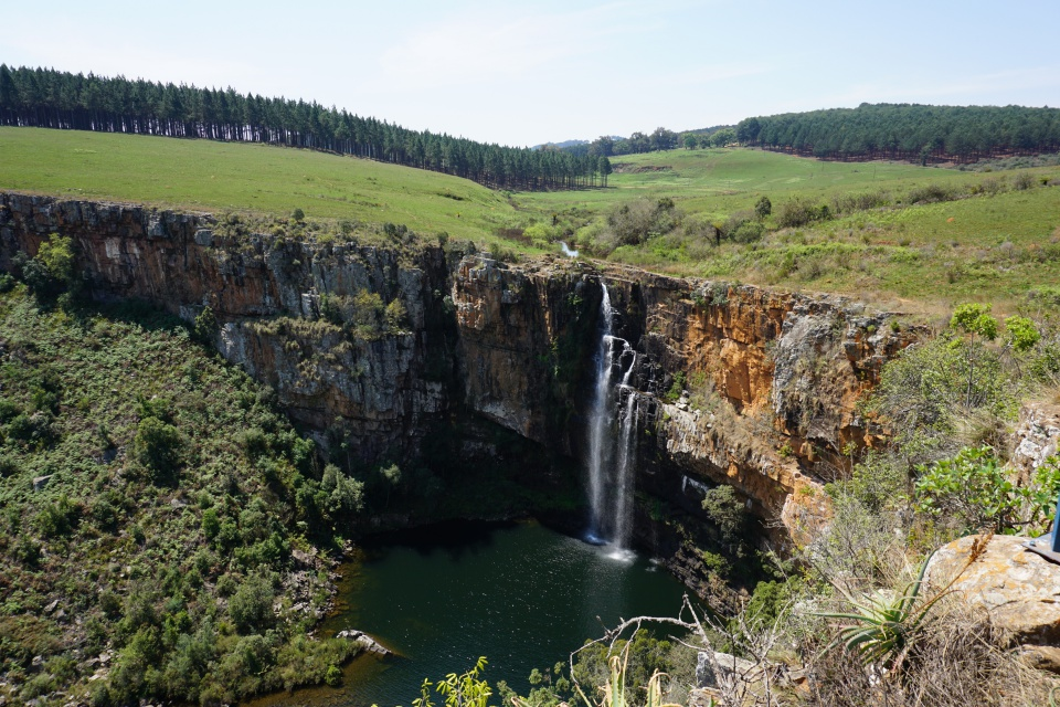 Die Berlin Falls am Blyde River Canyon