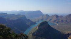 Gigantische Ausblicke am Blyde River Canyon entlang der Panorama Route in Suedafrika