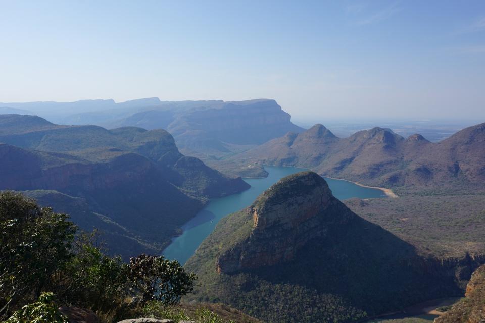Gigantische Ausblicke am Blyde River Canyon