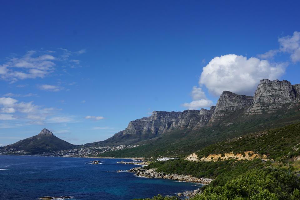 Roadtrip ueber den Chapman´s Peak Drive in Kapstadt Suedafrika