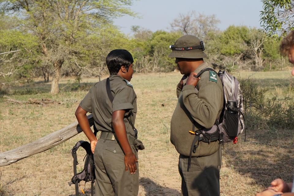 Die Ranger unserer Walking Safari